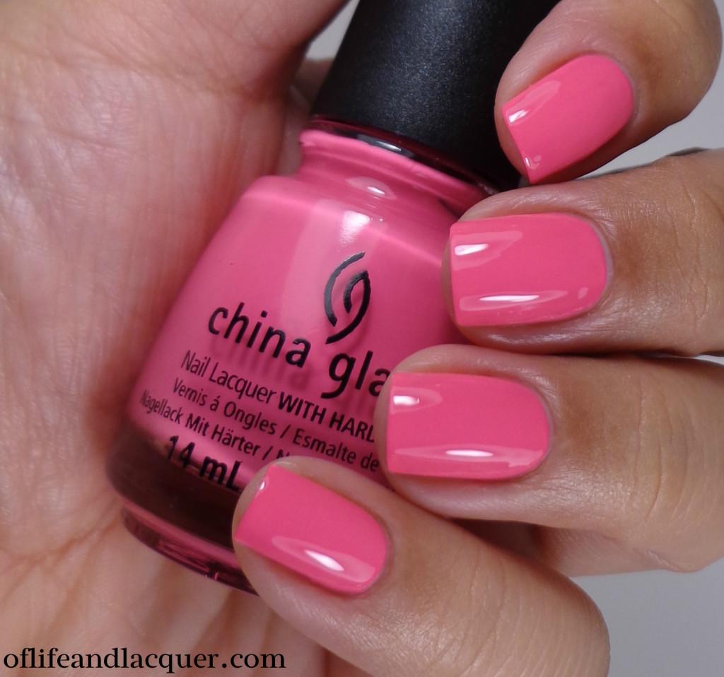 China Glaze Peonies & Park Ave 2a