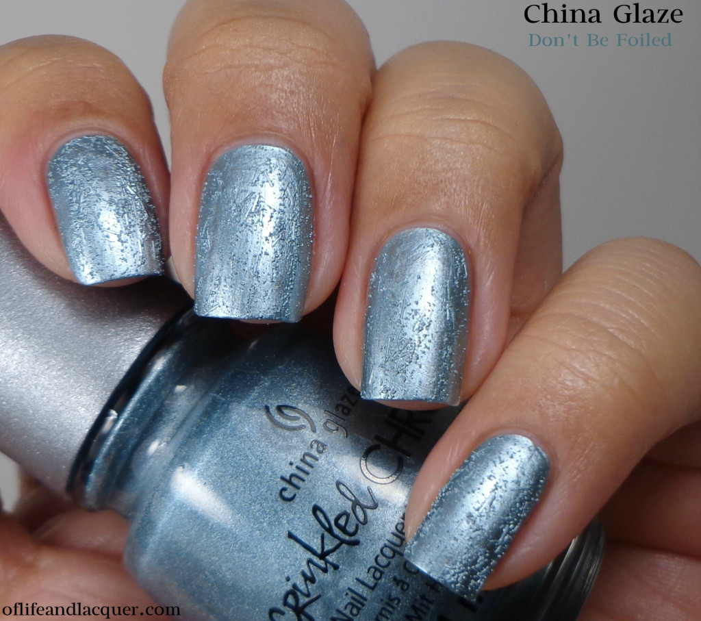 Chine Glaze Don't Be Foiled 1a