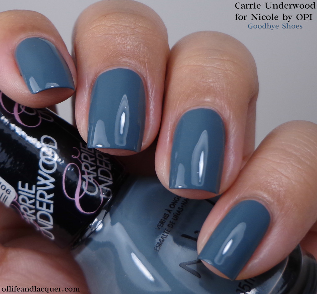 Nicole by OPI Goodbye Shoes 1a