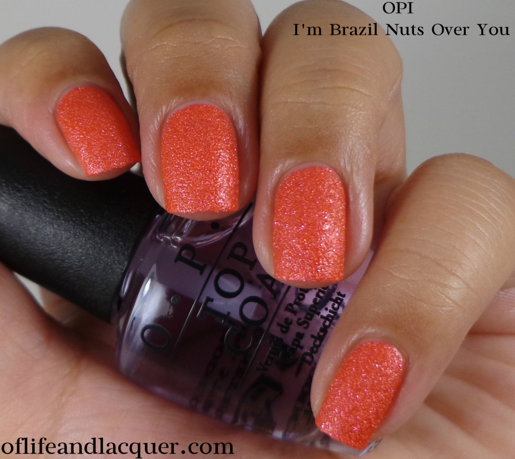 OPI I'm Brazil Nuts Over You 1a