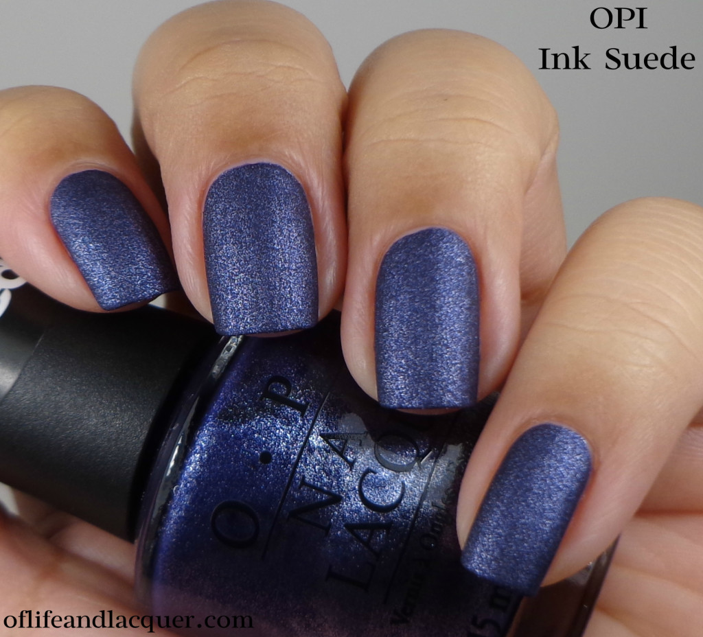 OPI Ink Suede a