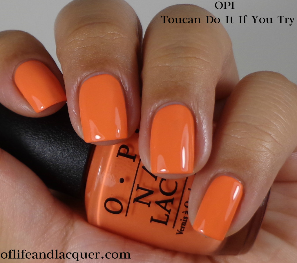 OPI Toucan Do It If You Try 1a