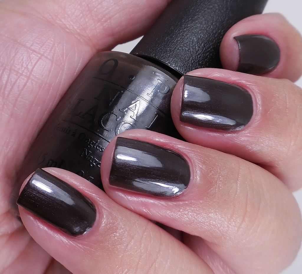 OPI Love Is Hot And Coal 2