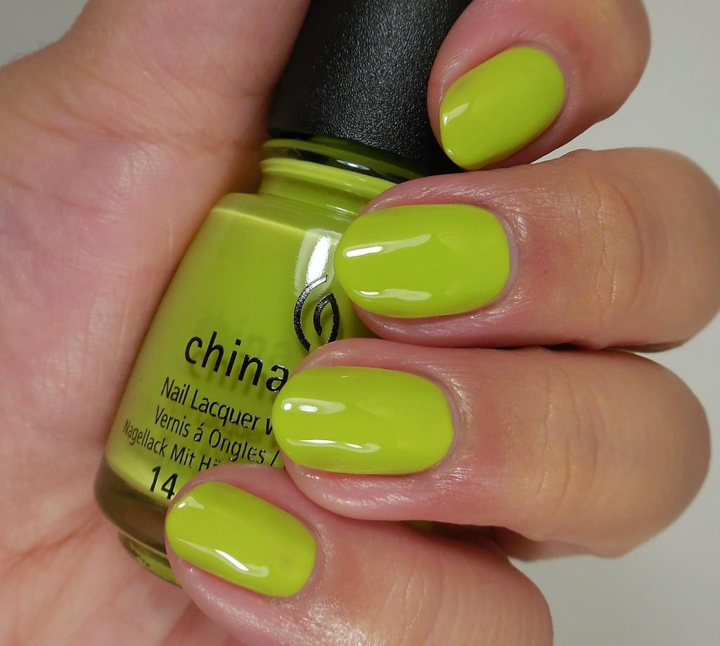 China Glaze Trip of a Lime Time 2