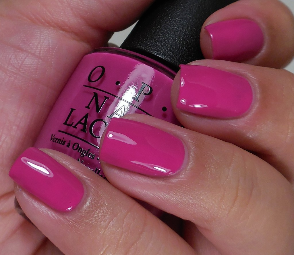 OPI The Berry Thought of You 2