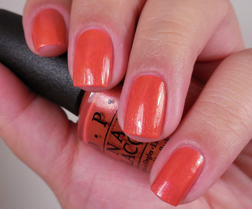 OPI Go With The Lava Flow 1
