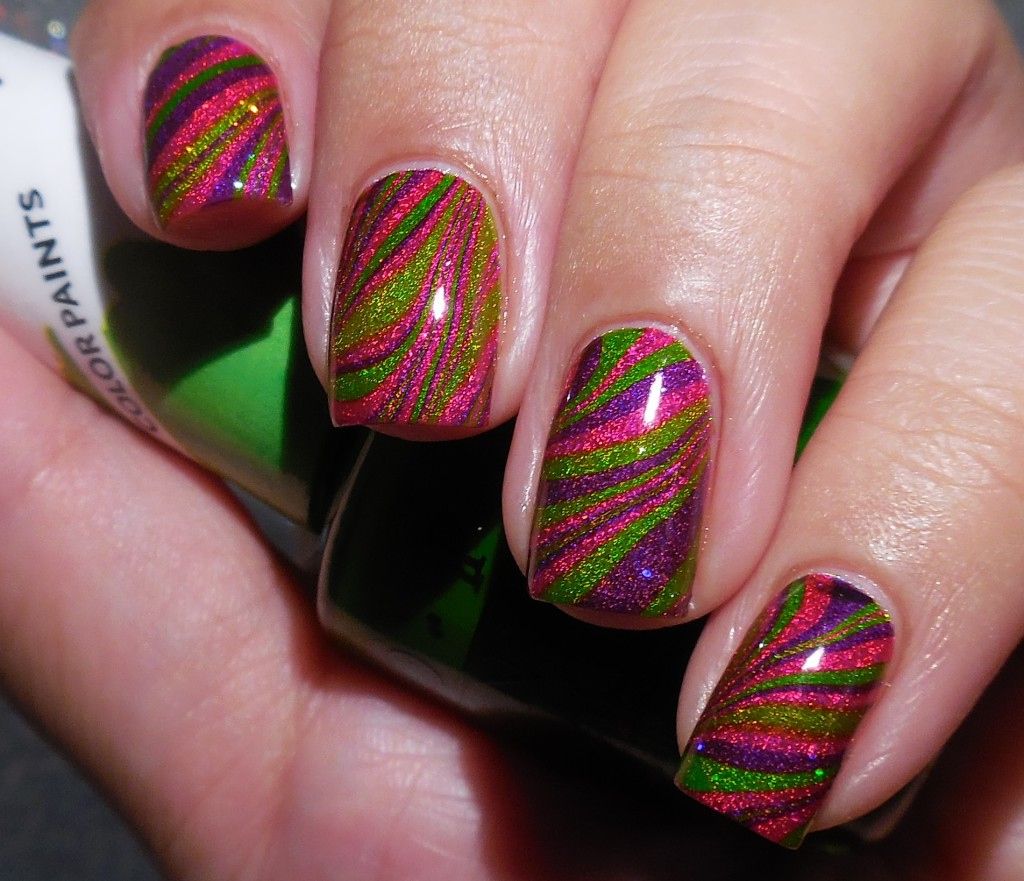 OPI Color Paints Watermarble 1