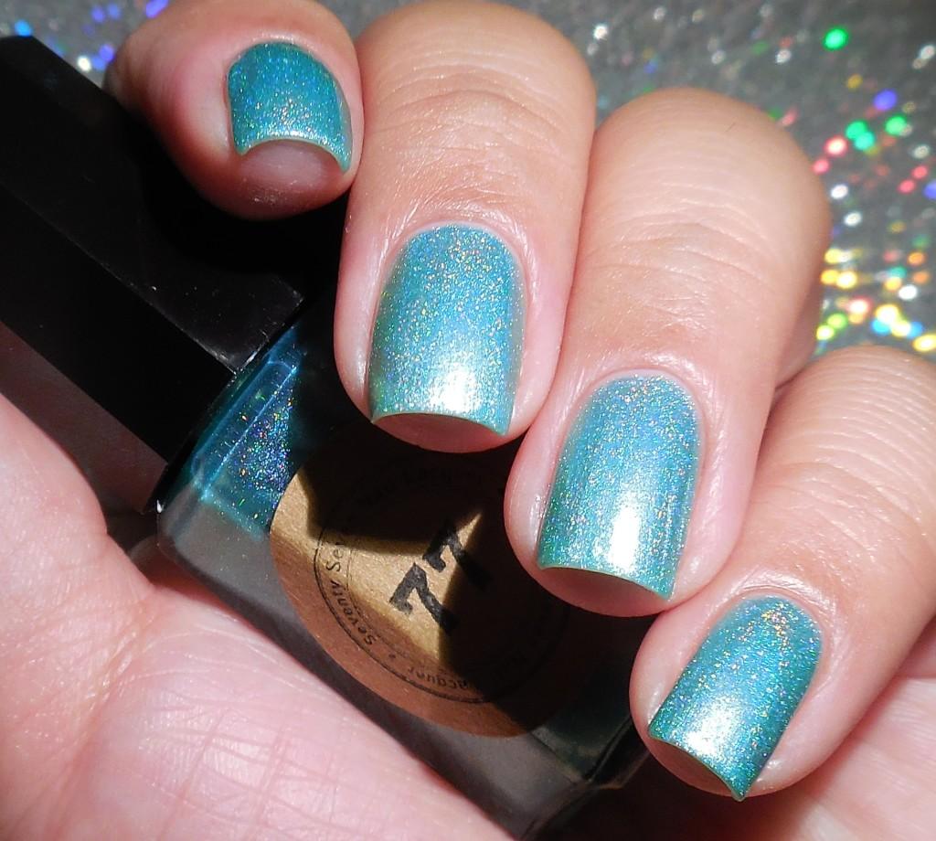 Seventy Seven Nail Lacquer Aquamarine 1